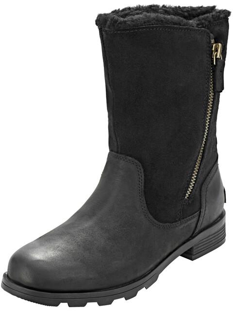 Sorel Emelie Foldover Boots Women Black